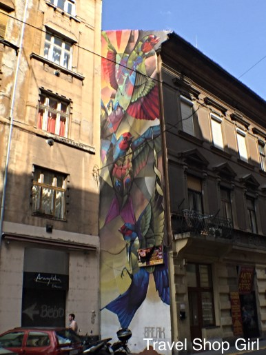 everyday art in Budapest