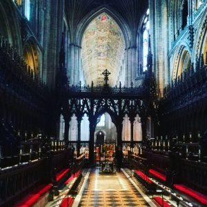 A view of the inside of Ely Cathedral