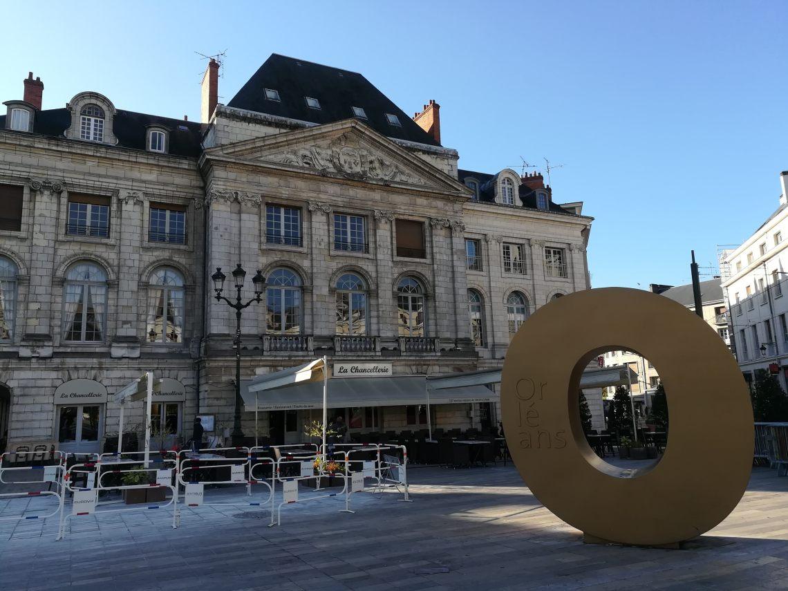 Orléans Place du Martroi