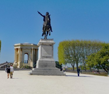 King Louis XIV on Horse