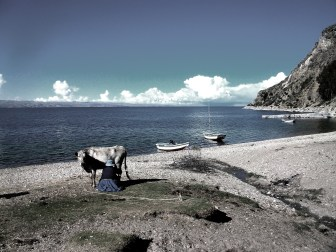 The traditional lifestyles of those living on the Isla Del Sol on Lake Titicaca, the birthplace of the Incan religion