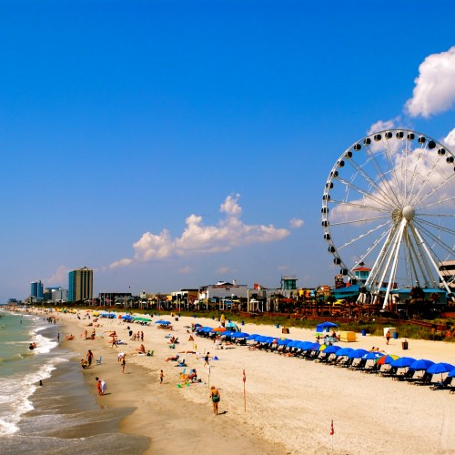 Myrtle Beach resort holiday