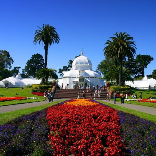 Conservatory Of Flowers - San Francisco - California - Golden Gate Park