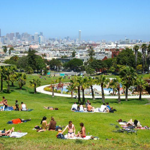 Mission Dolores Park - San Francisco - California