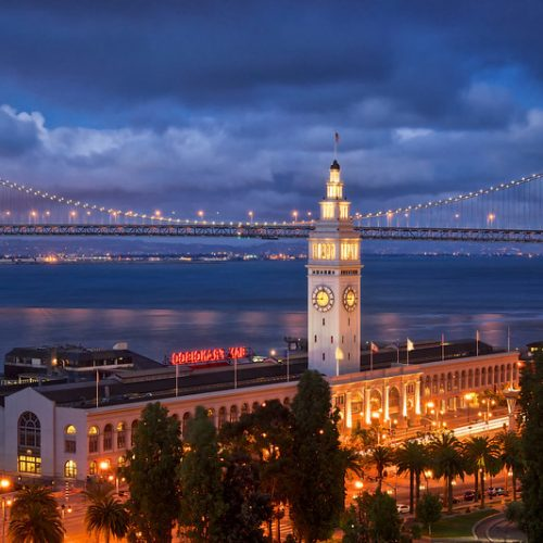 Ferry Building - Port of San Francisco - SF - CA - USA