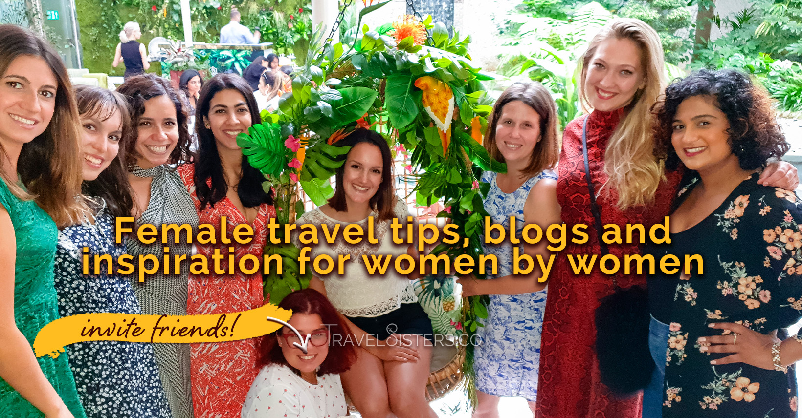 TravelSisters.co - The Female Only Travel App