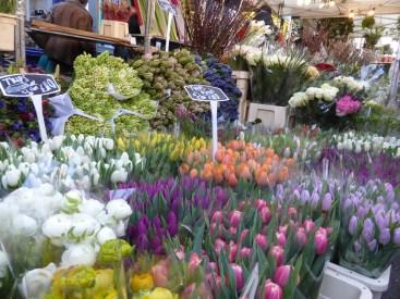 London, Flower market