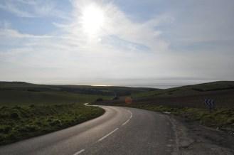 Scenery, Road, Coast