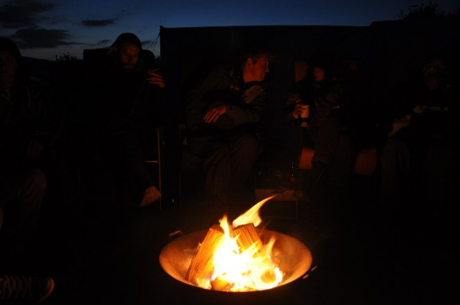 Some very inappropriate campfire songs were born this night.