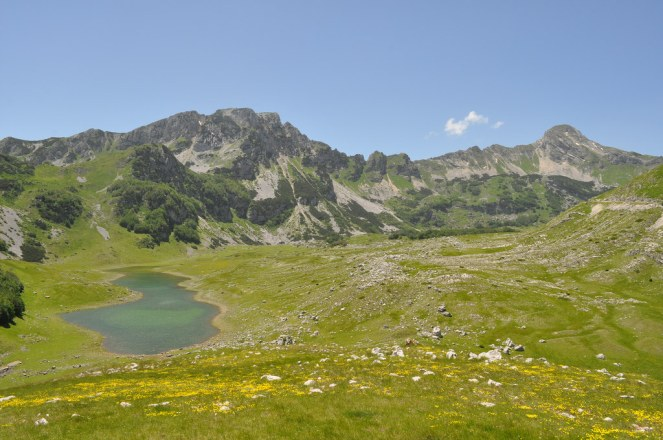The first stop at Durmitor.