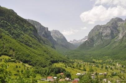 Vusinje, Montenegro, Mountains