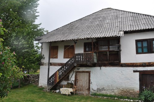 The traditional houses remind me of old Karelia.