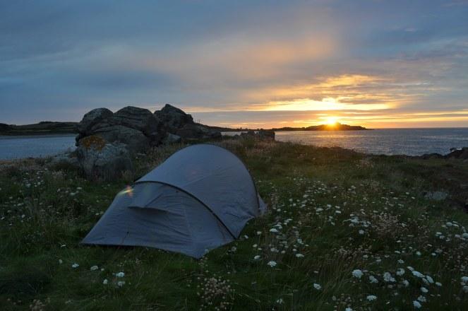 Quechua tent, Normandy