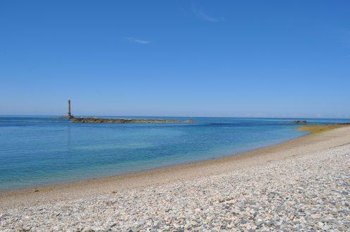 Lighthouse, Normandy, Sea