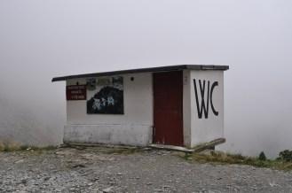 Toilet, Transfagarasan, Romania