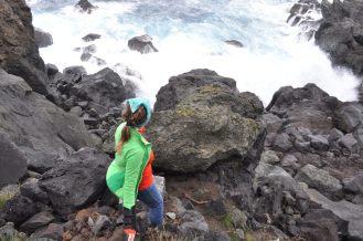 Veera meets the Atlantic!