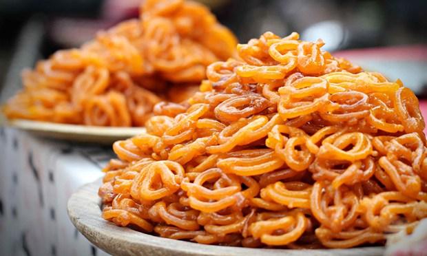 Indian sweet in Varanasi