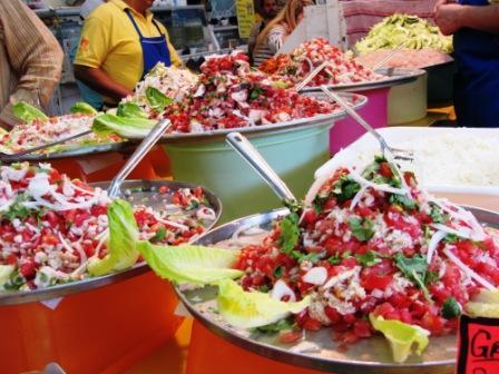Mercado en Coyocan