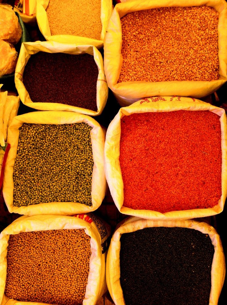 spice bags - Margao Market
