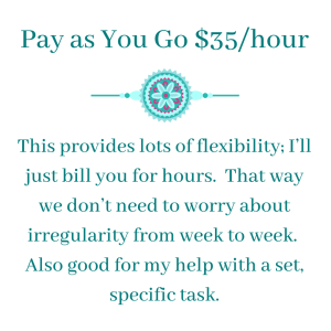 Pay as you go $35/hour - Virtual Assistant Extraordinaire