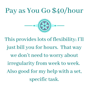Pay as you go $40 - Virtual Assistant Extraordinaire