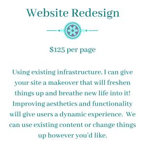 website redesign 2