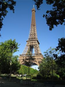 Craving Europe? There's no substitute for the Eiffel Tower...