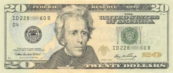 "Pay for travel by ""joining"" the Andrew Jackson Club. (Soon to become the Harriet Tubman Travel Fund...)"