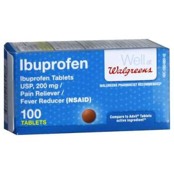 OTC medications every traveler should pack: Ibuprofen for pain relief and anti-inflammation.