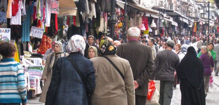 People of Istanbul-Women shopping