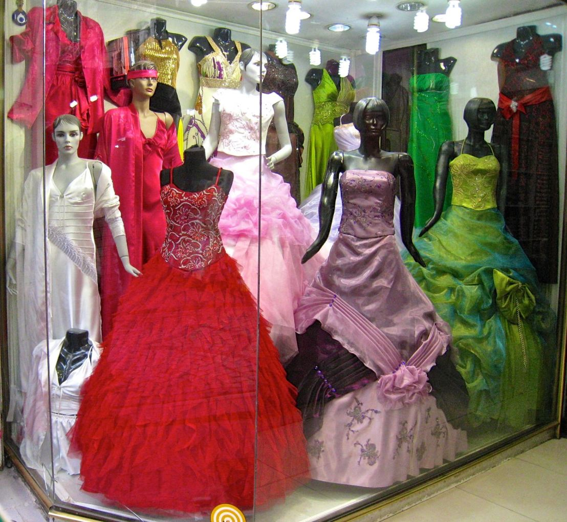 Window shopping: Turkish formal dresses