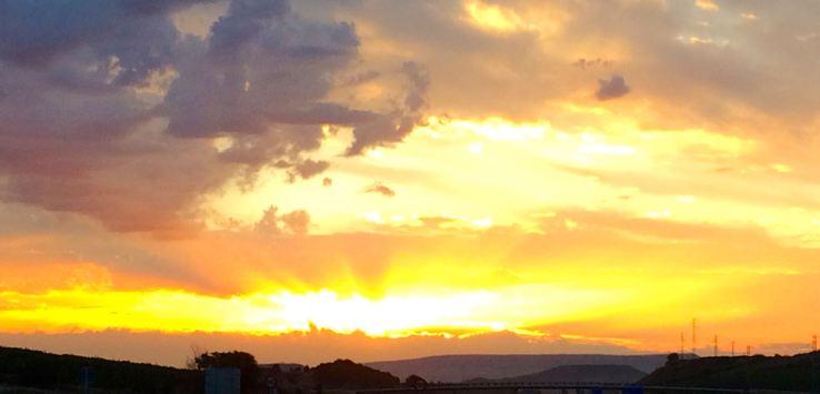 Solo Travel: Sunrise in Spain