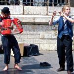 Street performers-Paris-Musicians