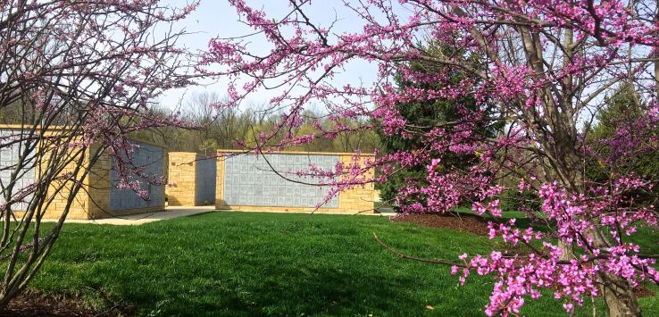 National Cemetery: Area of the columbaria