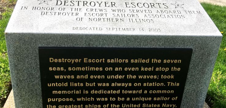 National Cemetery: A commemoration in honor of the Destroyer Escorts