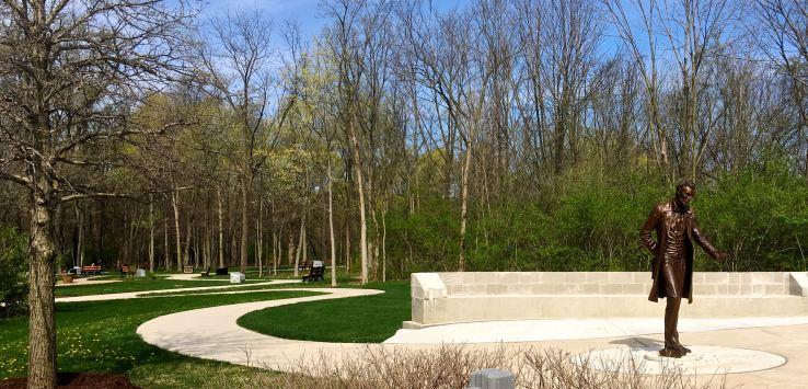 National Cemetery-Memorial Walk entrance