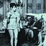 Montreal Expo '67: Bathing suits get more daring, although none of the fashion show attendees seem likely to wear this!