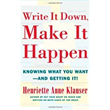 """Create your future with the help of the excellent """"Write It Down, Make It Happen"""" by Henriette Anne Klauser, PhD. It's a short book that will get you on your way...in every area of your life!"""