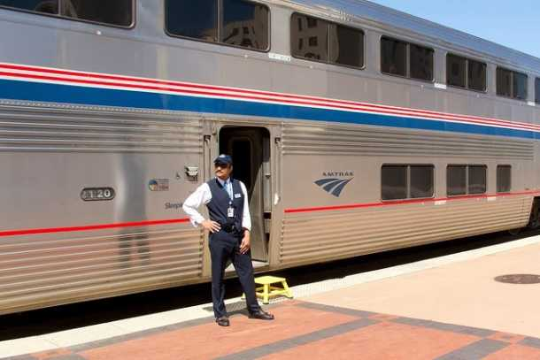 Amtrak Train Tips: For overnight travel, get a sleeper or bedroom compartment. With meals included, it's actually a bargain.