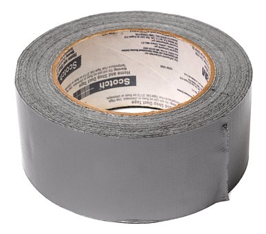 Duct tape: Don't leave home without it!