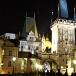 Charles Bridge Tower at night...lovely!