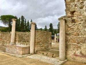 Villa Romana del Casale had a magnificent entrance.