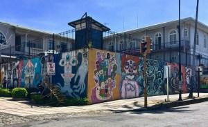 Street art in San Jose-Costa Rica.