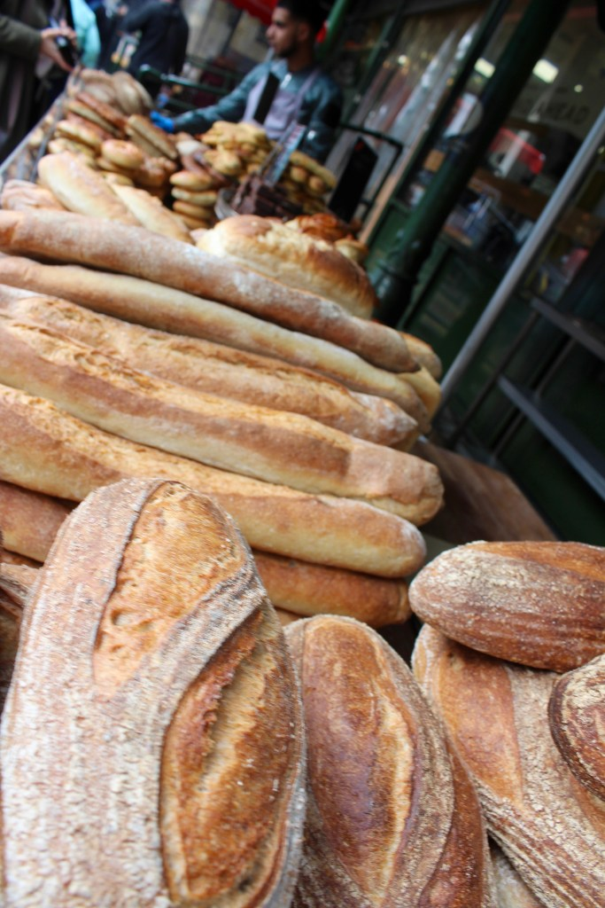 Artisanal baker, Borough Market, London