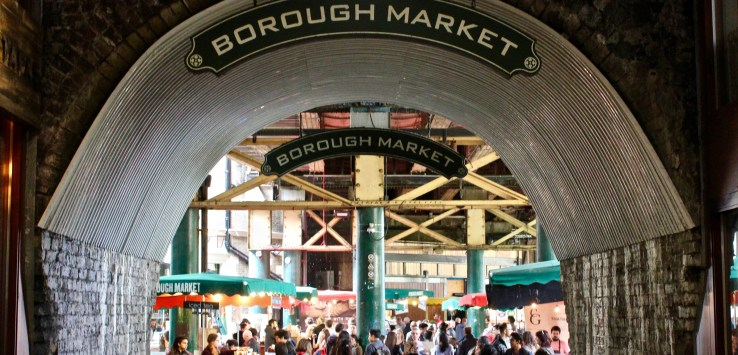 Borough Market is London's 1000-year-old place to buy fresh food!