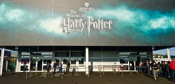 Harry Potter in London actually means a short ride to the Warner Bros. studio about 20 miles away.