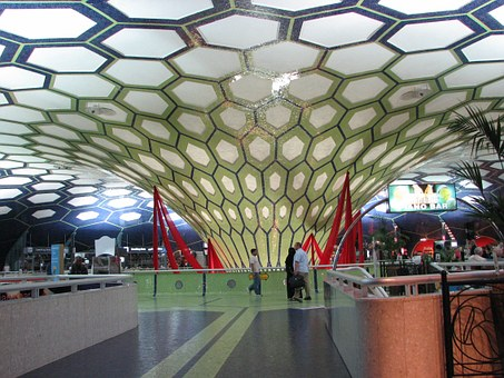 No matter how pretty the airport (Abu Dhabi pictured here) we still have to clear security. But once you know how to be airport-savvy, you'll save yourself stress and hassle.