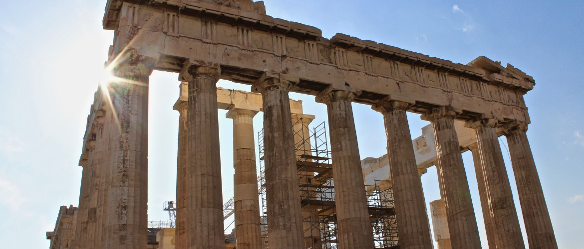 The Acropolis in Athens awaits!