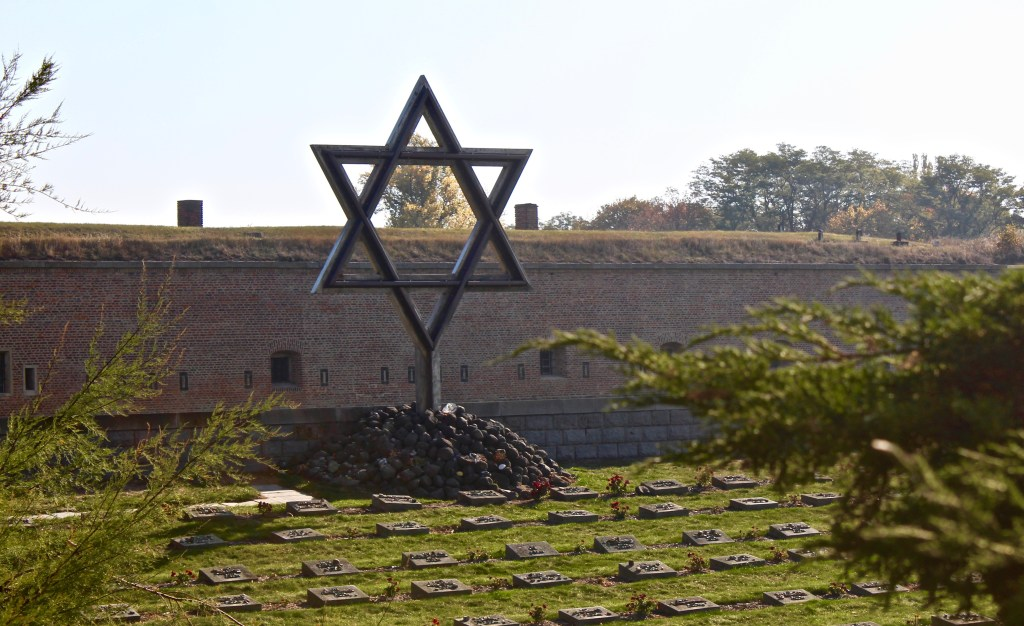 The National Cemetery is on the grounds of Terezin. There are markers for both Jewish and Christian victims.