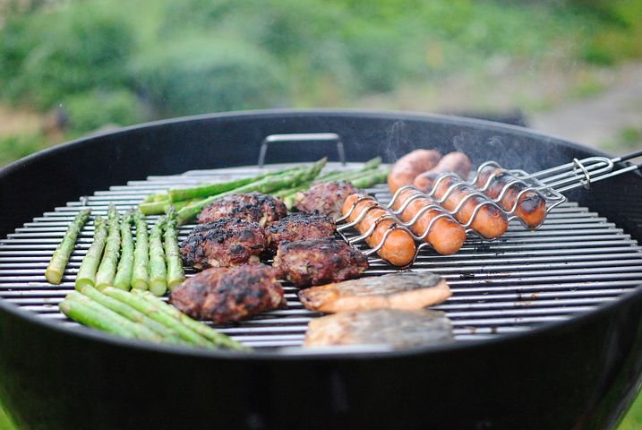Staycations let you balance fancy food with a simple cookout. It's all up to you!